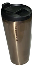 RARE Starbucks Pike Place Stainless Steel Tumbler 16Oz 2014 Limited / St... - $46.08