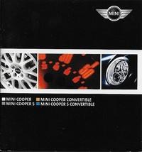 2005 Mini COOPER full line miniature brochure catalog folder convertible... - $6.00