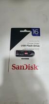 Sandisk Cruzer Glide Usb Flash Drive 16GB 2.0 Black - $9.99