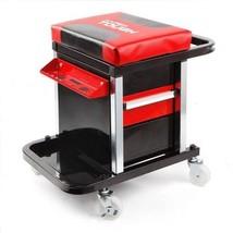 Creeper Tool Box Seat Chest Case Rolling Mechanic Stool Garage Man Men G... - $98.95