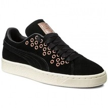 Puma Womens Suede XL Lace VR Sneakers Shoes 364107-01 Black MSRP $95 - $52.20