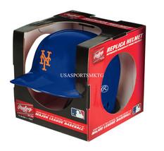 New York Mets MLB Rawlings Replica MLB Baseball Mini Helmet - $15.78