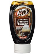 A&W Root Beer Float Dessert Topper Syrup, 12-Ounce (Pack of 2) - $18.28