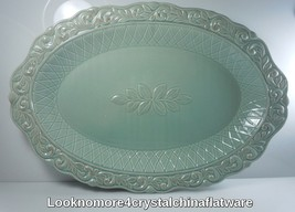 JCPenney Isabella Blue Oval Serving Platter - $49.49