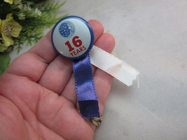 Vtg 16 years employed by Proctor & Gamble button,ribbon - $8.99