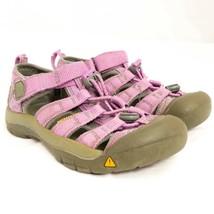 KEEN Hiking Sandals 1 Girls Purple Waterproof 33 EU 13 UK 20 CM - $23.53