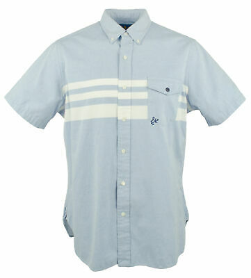Polo Ralph Lauren Men's Marine Oxford Short Sleeve Shirt