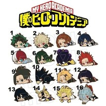 Anime My Hero Academia Rubber Strap Charm Keychain Gift - $5.92