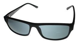 Perry Ellis Mens Sunglass Black Fade Plastic Rectangle, Smoke Gray Lens ... - $17.99