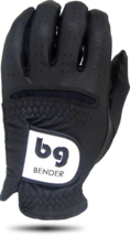 Black Synthetic Golf Glove - Cabretta Leather - $17.95