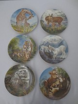 6 Signs of Love Knowles collector plates Deer Lion Tiger Raccoon Goat Gi... - $60.00