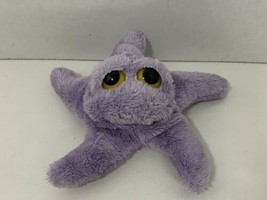 Russ Celeste small mini starfish purple beanbag plush stuffed animal toy - $9.89