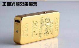 Gold Lion Creative Windproof USB Charging Pulse Arc Lighter - One Lighter w/box image 7