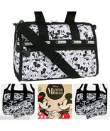 LeSportsac Disney Mickey Loves Minnie Mouse Small Weekender/Everyday Bag... - $92.80