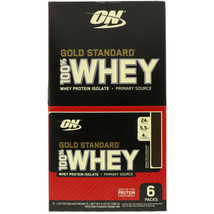 Optimum Nutrition  Gold Standard 100  Whey  Double Rich Chocolate  6 Pac... - $37.80