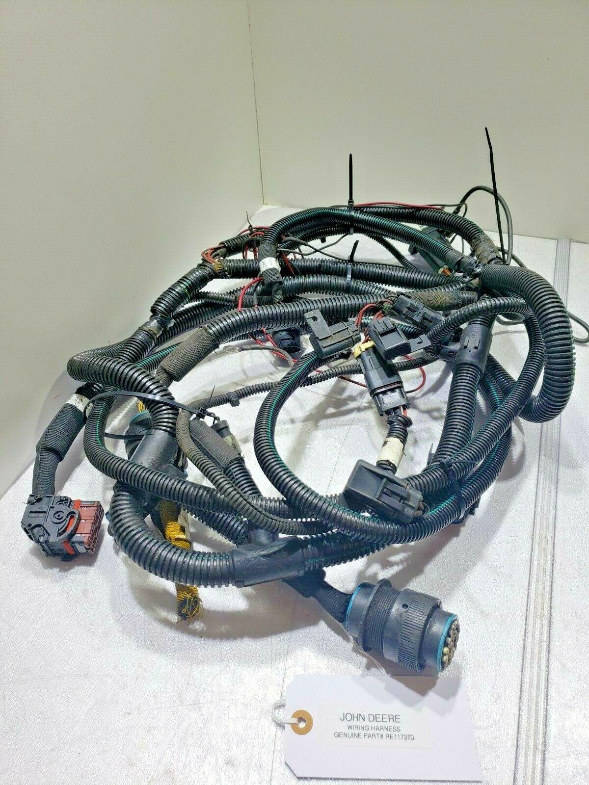 Wiring Harness DIESEL ENGINE John Deere RE117370 OEM
