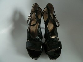 "Nine West 4.5"" Heel Black Platform Shoes Size 8.5M - $24.99"