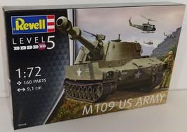 Revell 1/72 M109 US Army Plastic Model Kit - $13.00