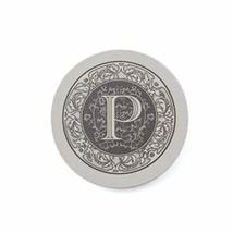 Thirstystone Absorbent Monogram Sandstone Coaster Set, Letter P, - $22.54