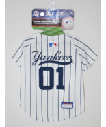 NY Yankees Baseball Dog Jersey by Pets First. -... - $17.95