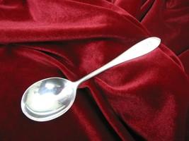 "PURITAN Sterling Silver CREAM SOUP SPOON 6"" Wallace Flatware 35 grams MO... - $36.62"