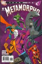 (CB-3) 2008 DC Comic Book: Metamorpho #6 of 6 - $2.00