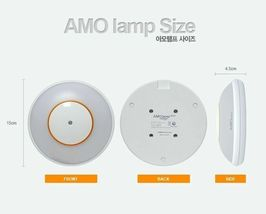 AMO Lamp For Baby Feeding Sleep Nursery & MultiUse One Touch Rechargable Comfort image 9