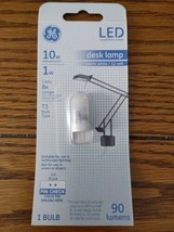 GE LED Desk Lamp Light Bulb Warm White 10W Replacement 1W T3 G4 Base 90 ... - $15.72