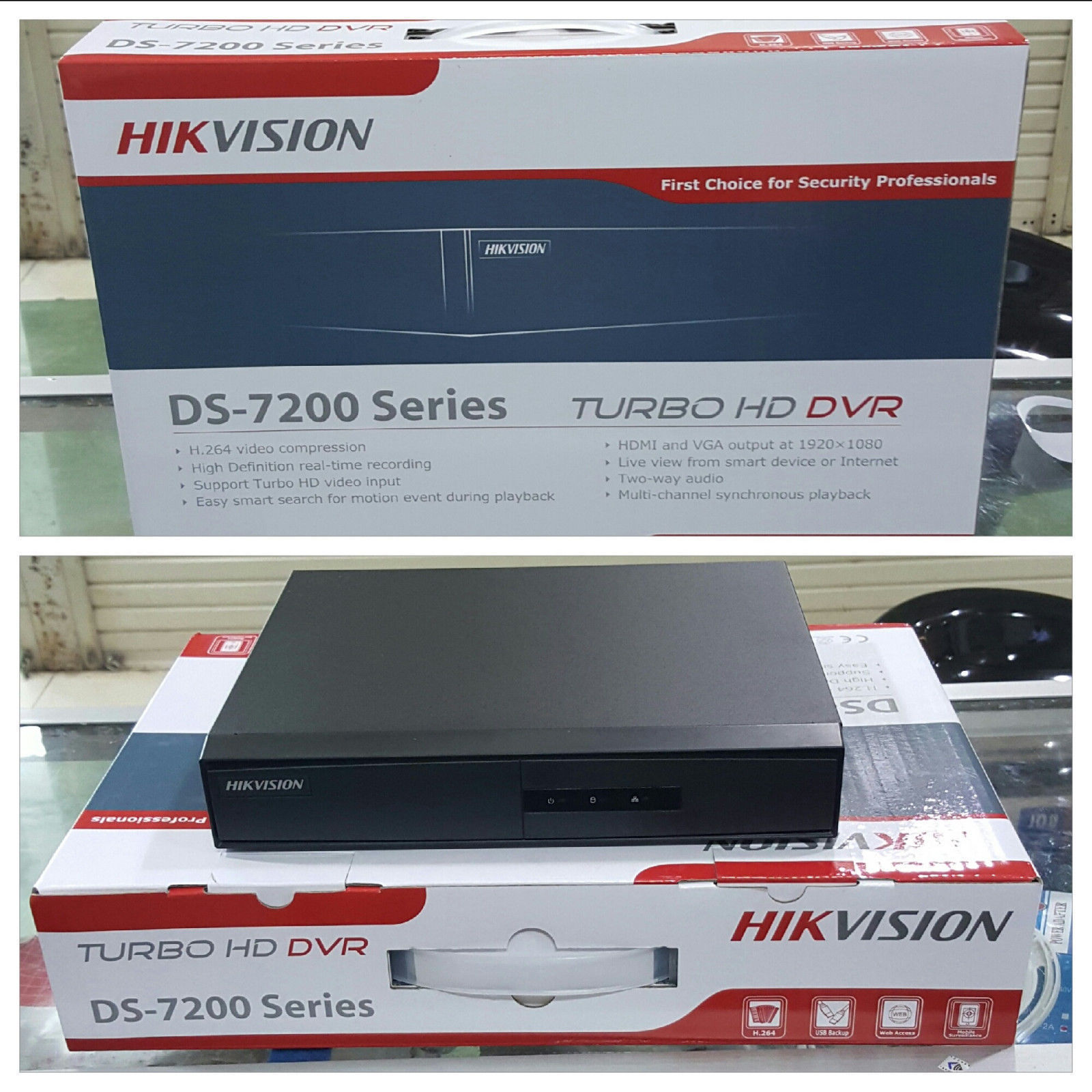 Hikvision Dvr DS-7208HGHI-F1 Turbo Hd 720 and similar items