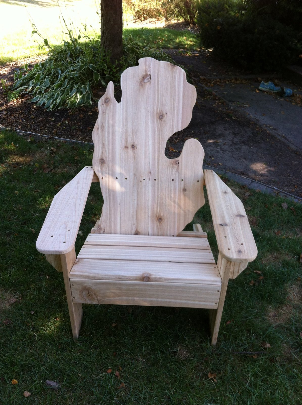 Pine Michigan Adirondack Chair