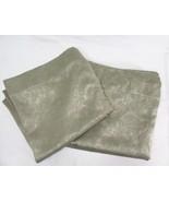 Corona Curtain Floral Sage Green 2-PC 100 x 95 Back-Tab Drapery Panels - $56.00