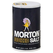 Morton Iodized Salt 26oz (1 only) - $3.47