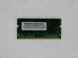 1GB PC2700 SO-DIMM Dell Latitude 100L 110L D400 D505 D600 D800 X300 RAM Memory