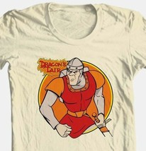 Dragon's Lair Dirk T-shirt retro 80's arcade game vintage cotton graphic tee image 1