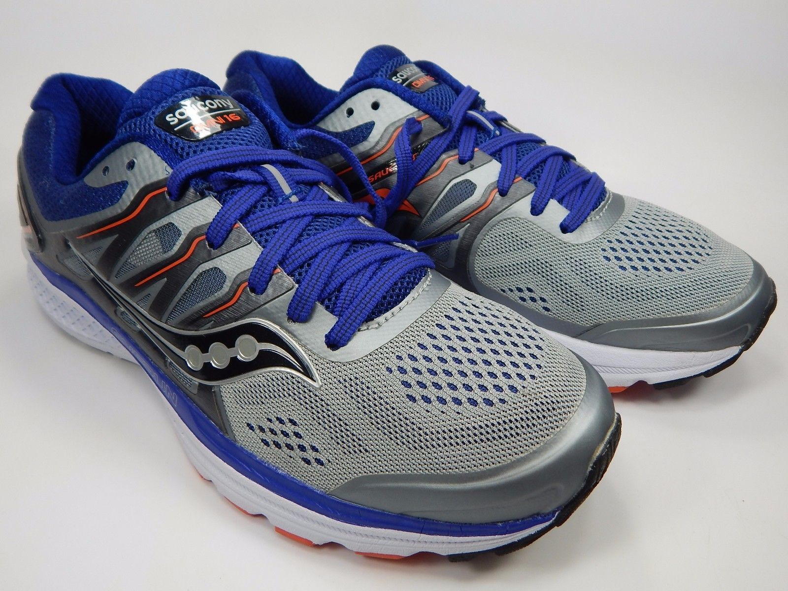 Saucony Omni 16 Men's Running Shoes Size US 9 M (D) EU 42.5 Gray S20370-1