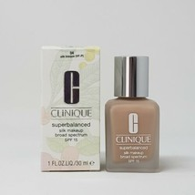 New Clinique Superbalanced Silk Makeup Broad Spectrum SPF 15 04 Silk Bisque - $20.57