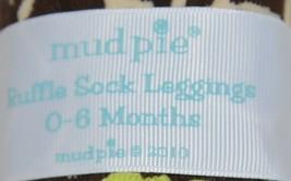 Mudpie Ruffle Socks Leggings Zebra Stripes Zero To Six Months image 2