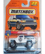 "1998 Matchbox ""4x4 Chevy Blazer"" #22 of 100 Vehicles Mint Vehicle On Sea... - $4.00"