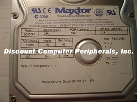Maxtor 85250A6 5.2GB 3.5in IDE Drive Tested Good Free USA Shipping