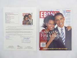 President Barack Obama Michelle & Malia Autographed Magazine Signed JSA ... - $4,450.99
