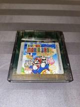 Super Mario Bros Deluxe (Nintendo Game Boy Color 1999) Original Tested Authentic - $21.99