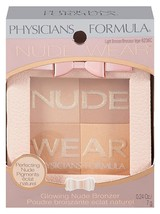 Physicians Formula Nude Wear Glowing Nude Bronzer, Light Bronzer, 0.24 Oz. - $6.95