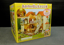 Sylvanian Families BEECHWOOD HALL House with lights Epoch Japanese version - $54.45