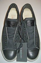 Converse John Varvatos Womens CT Burnished Slip On Shoes Black Size 7 147346C - $79.19
