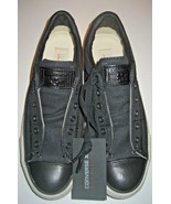 Converse John Varvatos Womens CT Burnished Slip On Shoes Black Size 7 14... - $79.19