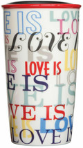 Starbucks Double Wall Holiday Love Is Tumbler (12 oz) Holiday 2017 New F... - $43.69