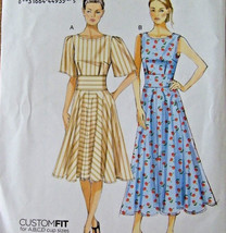 Vogue V8895 Misses Dresses Sizes 16-24 Very Easy Sewing Pattern U/C FF - $12.85