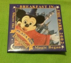 Disneyland plaza inn breakfast in park 2002 pin. - $4.99