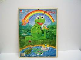 Vintage Jim Hensons Muppets Tray Puzzle Kermit  Milton Bradley Uncommon - $13.99