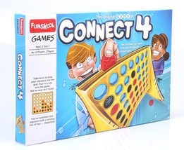 Funskool The Original Game of Connect 4 Connect-4 (big) Board Game Check... - $26.72